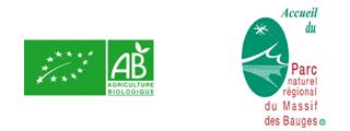 Logo AB et Marque Parc Bauges