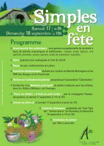 Simples en Fête, journée des producteurs de plantes aromatiques et médicinales des Savoie